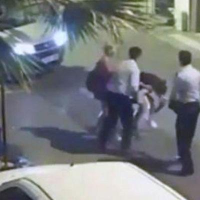Tacize uğrayan genç kızları döven polisler 48 saatte tahliye edildi