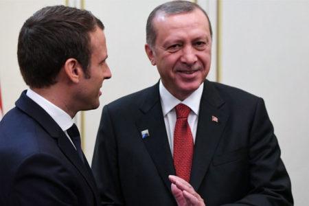 Macron: Ben Erdoğan ile on günde bir konuşmak zorunda olan biriyim