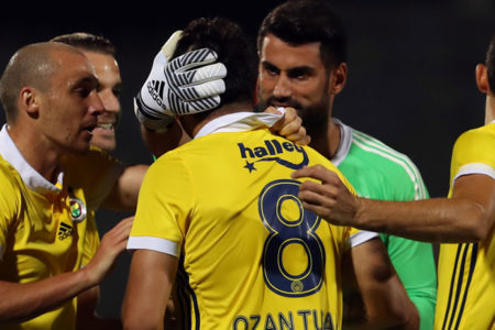 Fenerbahçe üç puana Ozan Tufan'la uzandı