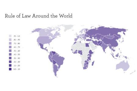 Türkiye, 'Dünya Hukuk Endeksi'nde 99. sıraya geriledi