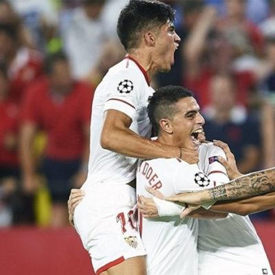 Başakşehir Şampiyonlar Ligi'ne veda etti: Sevilla 2-2 Medipol Başakşehir