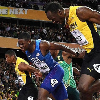 Usain Bolt kariyerinin son yarışında geçildi
