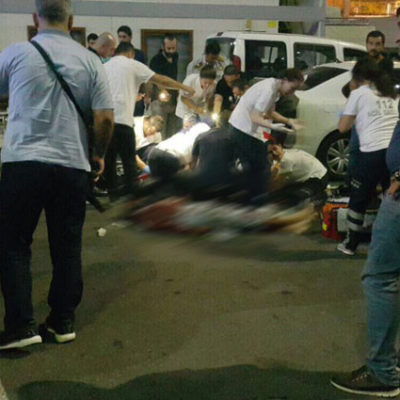 Gözaltındaki şüpheli Vatan Emniyet'te polis bıçakladı
