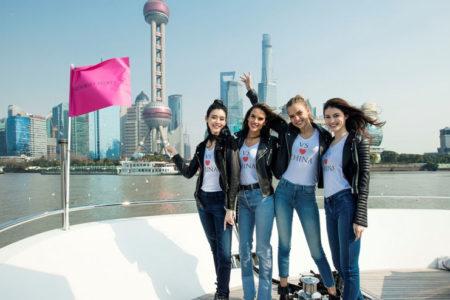 Victoria's Secret'ın defilesi bu yıl ilk kez Şanghay'da düzenlenecek
