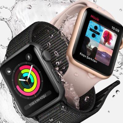 Apple Watch Series 3 Türkiye'de satışa sunuldu