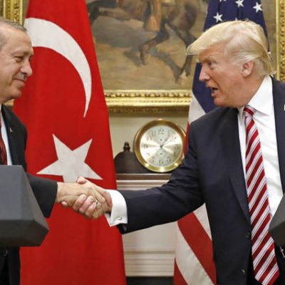 Erdoğan ve Trump New York'ta Görüştü