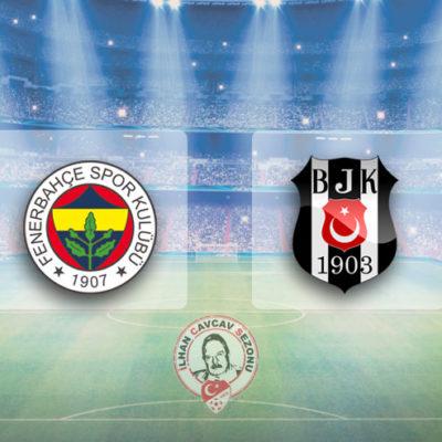 Olaylı derbi Fenerbahçe'nin: Fenerbahçe 2-1 Beşiktaş
