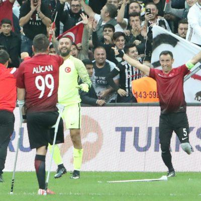 Türkiye Ampute Futbol Milli Takımı, Avrupa şampiyonu oldu