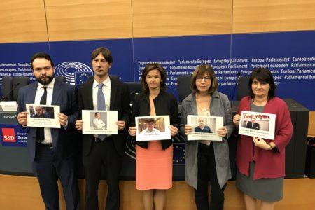 Avrupalı parlamenterlerden Türkiye'deki tutuklu gazetecilere destek