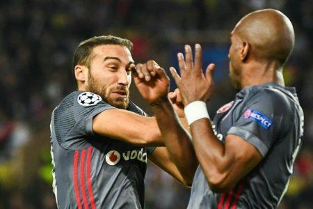 Beşiktaş tarih yazıyor: Monaco 1-2 Beşiktaş