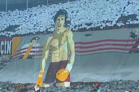 Stallone, Galatasaray'ın koreografisini paylaştı