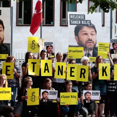 Uluslararası Af Örgütü yöneticisi Taner Kılıç'ın tutukluluğunun devamına karar verildi