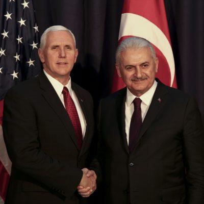 Yıldırım-Pence görüşmesi: ABD tutuklamalarla ilgili kaygılarını dile getirdi