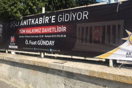 """AKP 2019 için """"Atatürk açılımı"""" başlattı"""