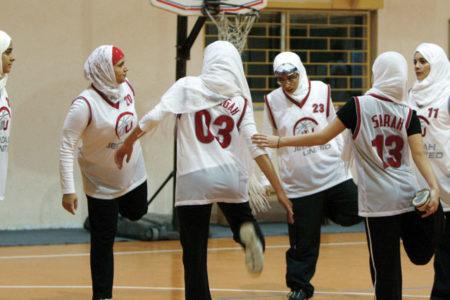 Suudi Arabistan'da kadınlar için ilk kez basketbol turnuvası düzenlendi