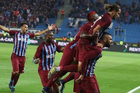Trabzonspor, 7 gollü maçta üç puana uzandı