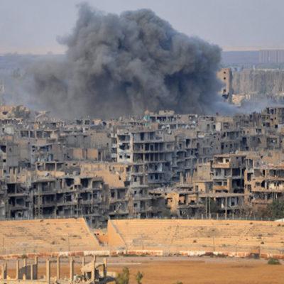 IŞİD Deyr ez Zor'da kaçan sivillere saldırdı