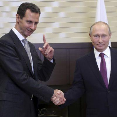 Esad, Erdoğan'dan bir gün önce Rusya'ya gitti ve Putin'le görüştü