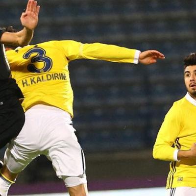 Osmanlıspor-Fenerbahçe karşılaşması 1-1 berabere sonuçlandı