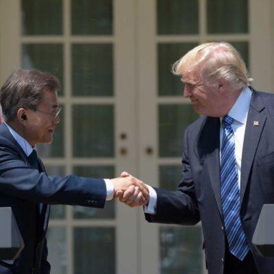 Trump'ın Asya turu, Güney Kore'de devam ediyor