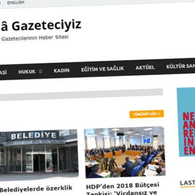 KHK mağduru gazeteciler bir araya geldi: 'Halagazeteciyiz' yayında