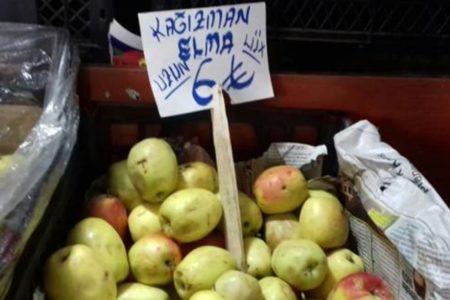 Bu elma dünyada sadece Kağızman'da