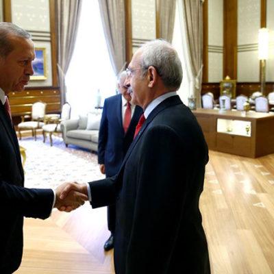"""Top, Kılıçdaroğlu'nda; Erdoğan, CHP liderine """"İddiaları ispat et, koltuğu bırakacağım"""" dedi"""