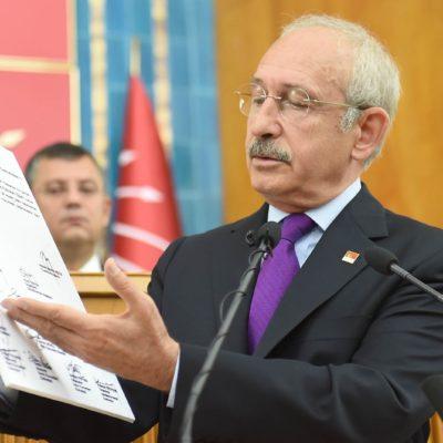 Kılıçdaroğlu, Erdoğan belgelerini açıklarken TRT yayını kesti!