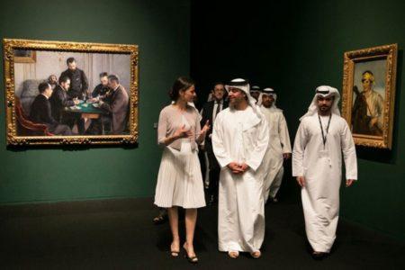 """Abu Dabi, Fransa'ya yeni müzenin adında""""Louvre"""" geçmesi için 525 milyon dolar ödedi"""
