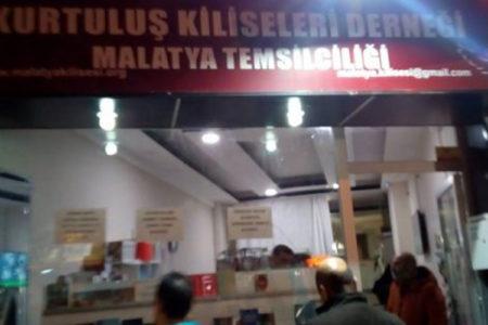 Malatya'da Ermenilere ait kilise derneğine saldırı