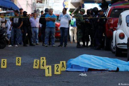 Meksika'da her 15 dakikada bir kişi ölüyor