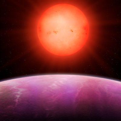 Yörüngesinde döndüğü yıldızdan iki kat büyük dev gezegen keşfedildi