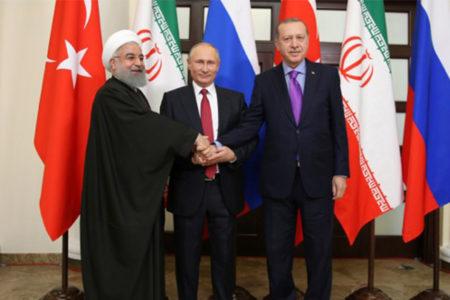 """Soçi'de üçlü Suriye zirvesi: """"Yeni anayasa hazırlanacak, BM'nin gözetimi altında seçimler yapılacak"""""""