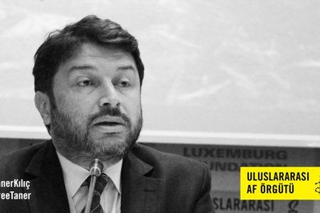 Uluslararası Af örgütü'nden Andrew Gardner arkadaşı Taner Kılıç'ı yazdı: Hakındaki iddialar gülünç