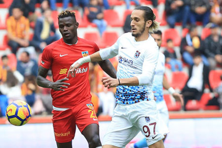 Kayseri'de gol sesi çıkmadı: Kayserispor 0-0 Trabzonspor