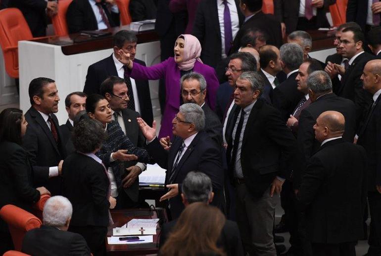 TBMM'de AK Parti – HDP gerilimi