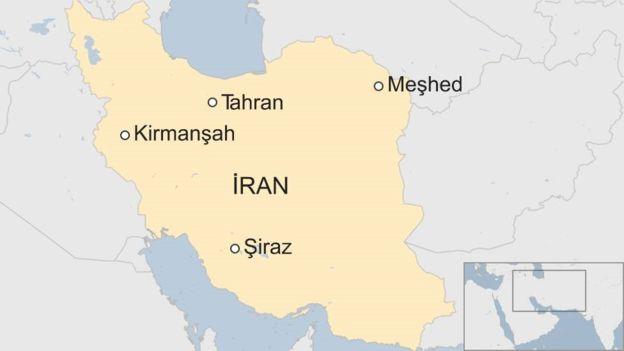 İran'da hükümet karşıtları sokaklara çıktı