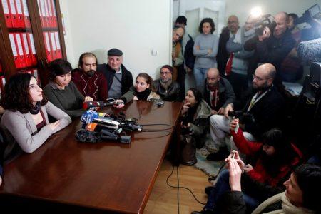 """Cezaevi çıkışı karakola götürülen ETHA çalışanı Tolu: """"Tahliyemi hazmedemediler"""""""