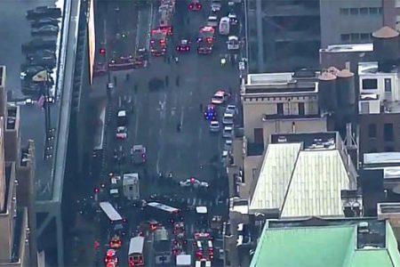 New York'ta otobüs terminalinde şiddetli patlama