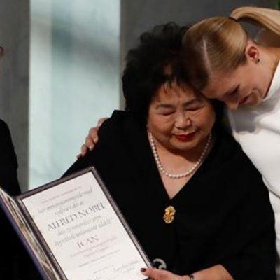 Ican Nobel Barış ödülünü aldı