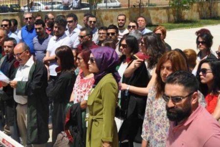 Otopark eylemi yapan avukatlara 10 yıl hapis istemi