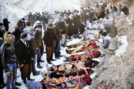 Roboski halkı karalar bağladı; Katliamın yıl dönümünde mezar başındalar