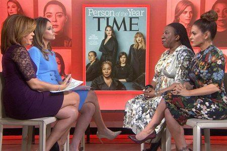 Time yılın kişisini seçti: Sessizliği bozan ve uğradıkları cinsel tacizi anlatan cesur kadınlar