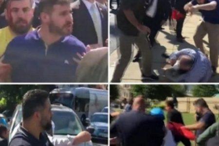 Washington'da göstericilere saldıran 2 Türk Kanada'yı terk etmiş!