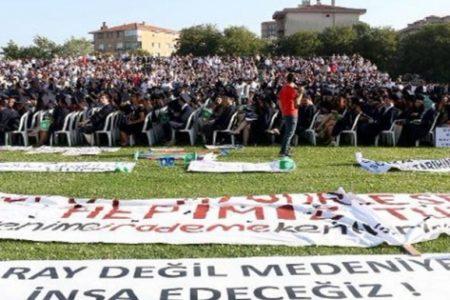 Boğaziçili öğrencilerden Erdoğan'a: Diplomasız diktatör