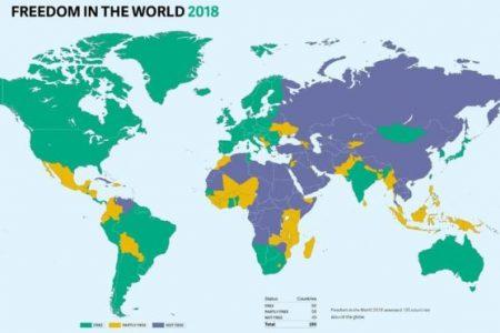 """Freedom House, Türkiye'yi """"özgür olmayan ülkeler"""" kategorisine aldı"""