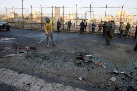Bağdat'ta çifte intihar saldırısı: En az 35 ölü