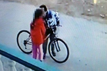 2 kız çocuğunu taciz eden bisikletli tacizci yakalandı