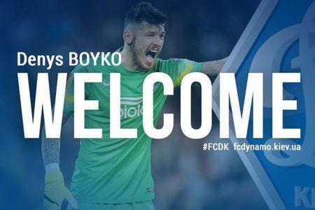 Boyko resmen Dinamo Kiev'de